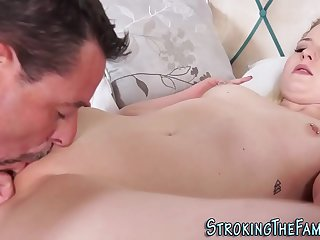 Stepdaughter gets pussy..
