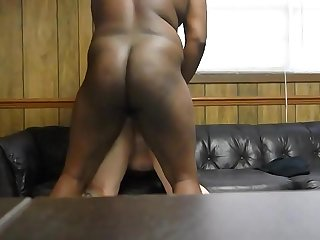 fucking her fat juicy ass on..