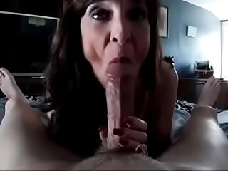 Mature worship big cock