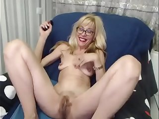 Hairy Granny with big Cunt..