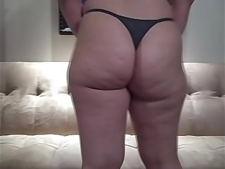 PAWG in Thong Panties Hot..