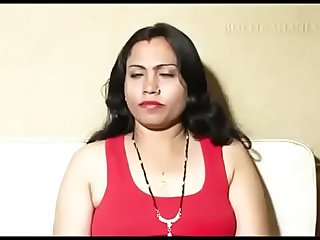 Indian long hair mom fuck by..
