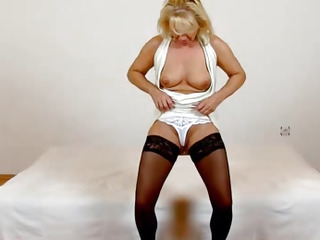 Beautiful czech blonde milf..