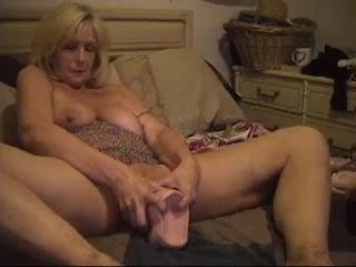 Old Slut Stuffs Enormous..