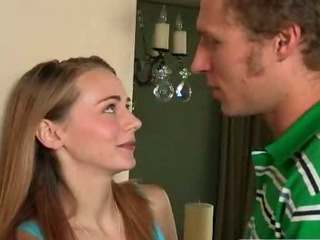 Stepmom punishes teen with a..