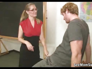 Milf Teacher Hot Blowjob