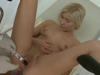 Blonde Gets Her Pussy And..