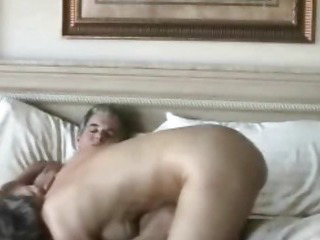 Older amateur couple really..