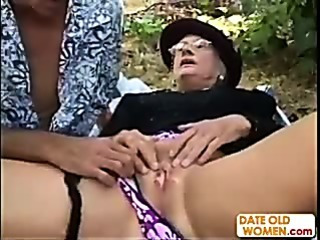 Granny Kathy gets fucked in..