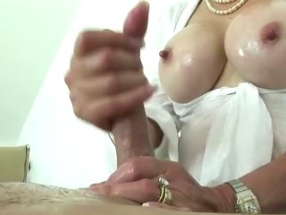 British mature tit job slut