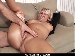 MomsWithBoys - Hot Blond Mom..