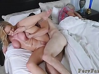 Ebony milf orgy  mom and..