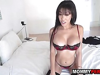 Mom has sex with stepson..