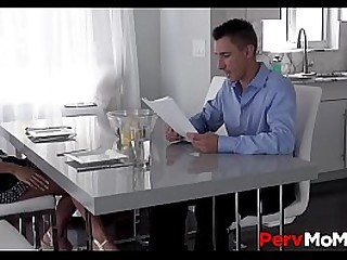 Sexy Stepmom With Huge Boobs..