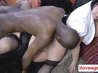 Black guy pounded Lacey'_s..