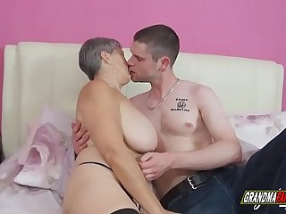 busty grannies are worth to..